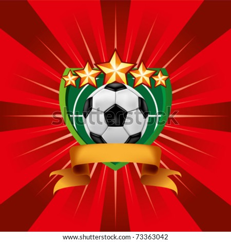 Soccer Football Emblem