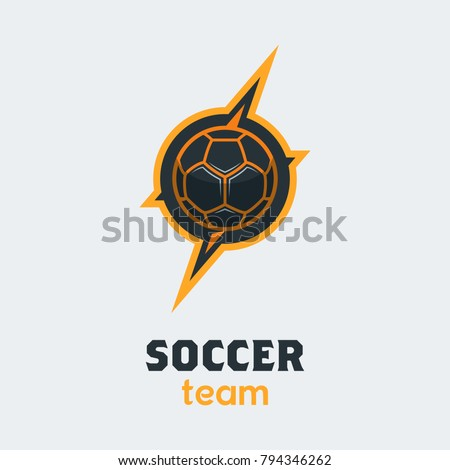 soccer football logo template