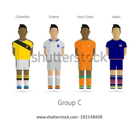 soccer   football team players