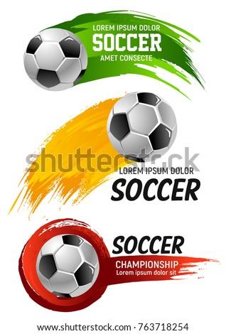 soccer game championship ball