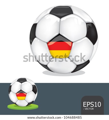 soccer  germany vector