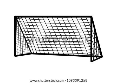 soccer goal keeper download free vector art stock graphics images