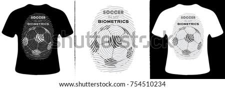 soccer in my biometrics t shirt