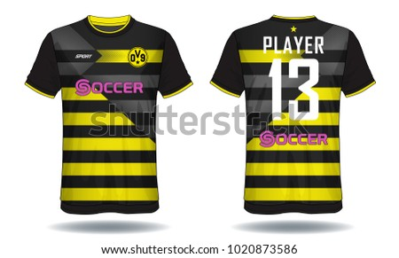 soccer jersey template mock up