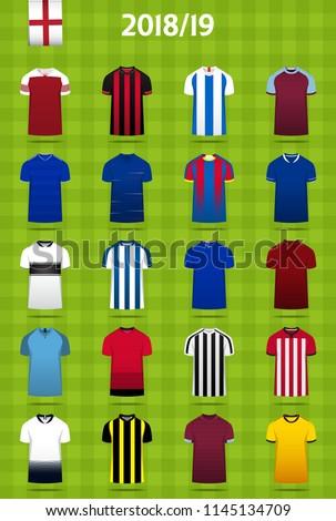 soccer kit or football jersey