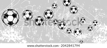 soccer or football illustration