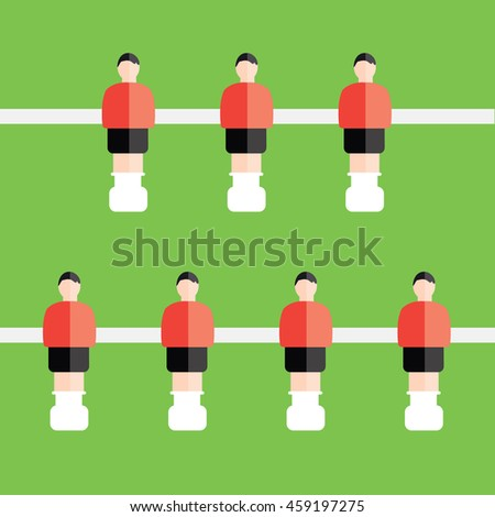 soccer or football table