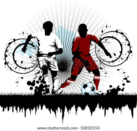 soccer player attack gate of the opponent;