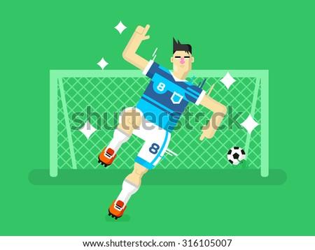 soccer player sport football
