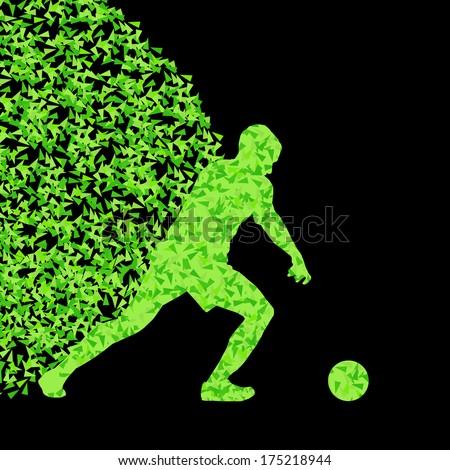 soccer player winner vector
