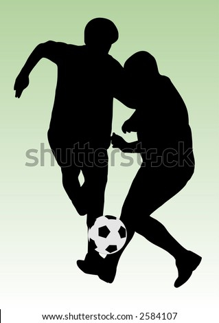 soccer players with ball