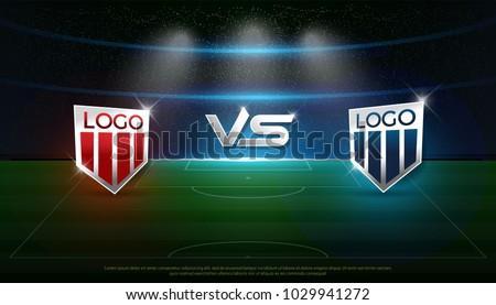 soccer scoreboard stadium