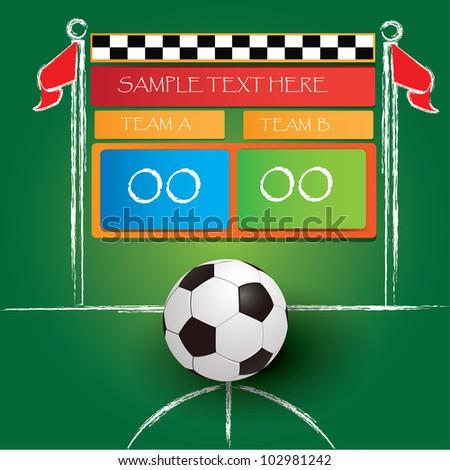 Soccer Scoreboard Clipart - fedinvestonline