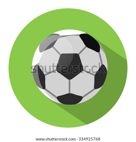 soccer sport ball icon
