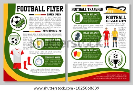 soccer club sports championship flyer template - Download Free ...