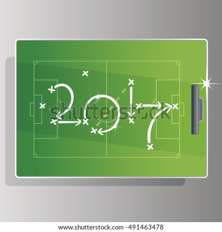 soccer strategy goal 2017 green