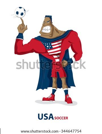 soccer super hero  american