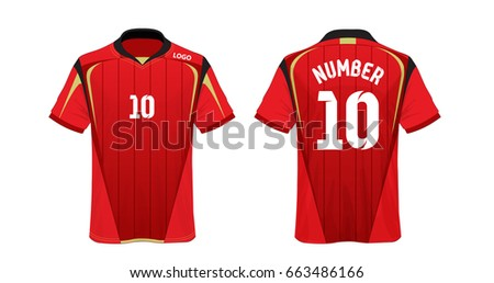 soccer t shirt for football club