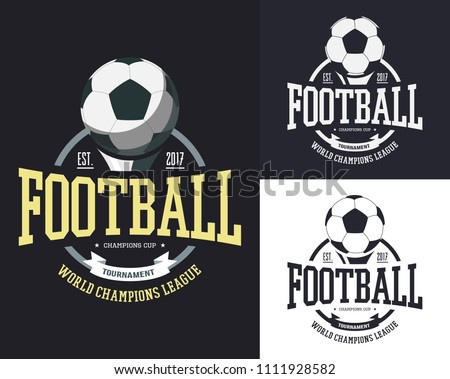 football logo graphics download free vector art stock graphics