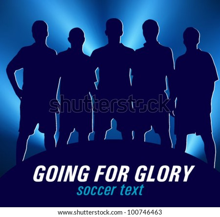 soccer team on in the spotlight