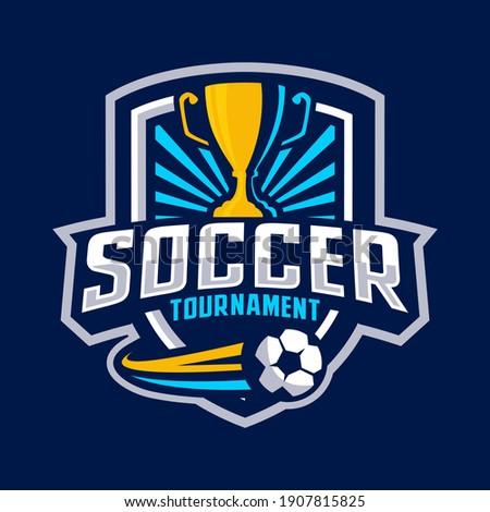soccer tournament badge design