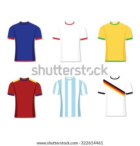 soccer uniform or football of