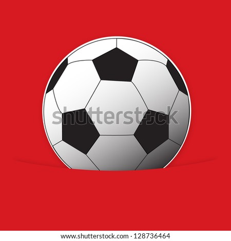 Soccer vector illustration collection