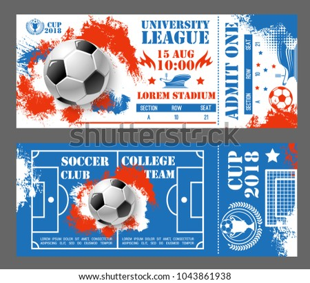 sporting event ticket template download free vector art stock