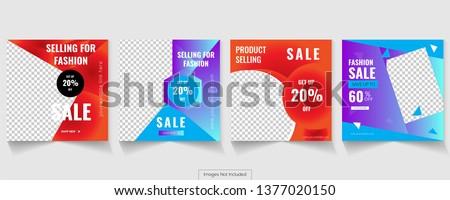Social ads banner design