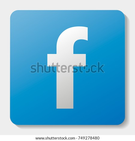 social facebook network icon