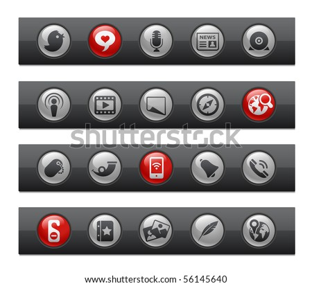 Social Media // Button Bar Series