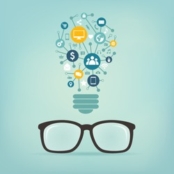 social media concept idea