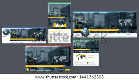 Social media cover header background template, social media post, header with logo template. Template cover header for social media, banner,  advertising  business corporate. Vector illustration.