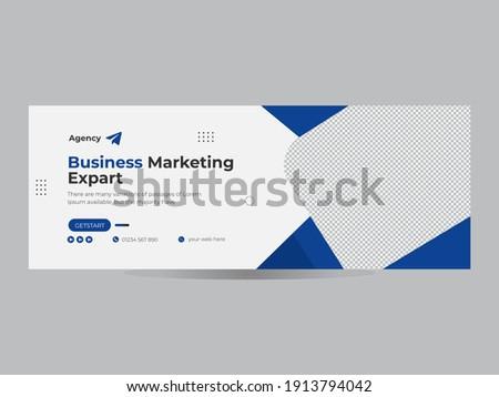 social media Facebook Business promotion  timeline web ad banner template