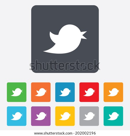 stock-vector-social-media-icon-short-messages-twitter-retweet-symbol-rounded-squares-buttons-vector