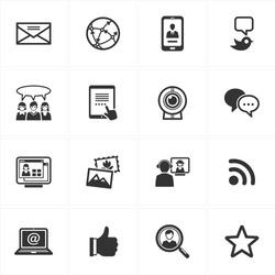 Social Media Icons - Set 1
