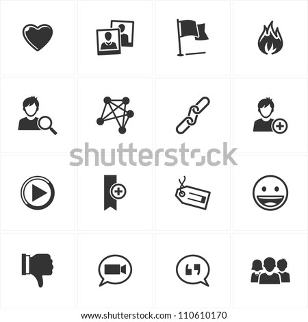 Social Media Icons - Set 2