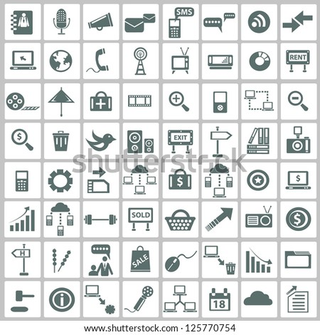 Social media & internet concept,icons,vector