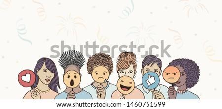 social media masquerade   group