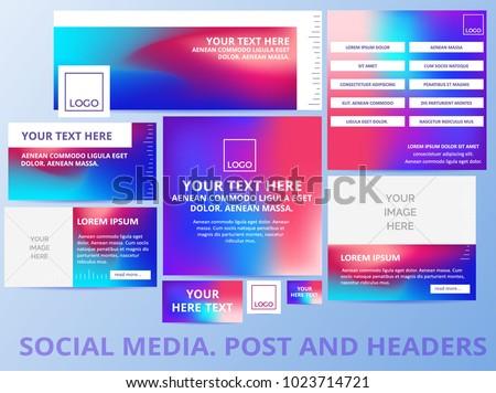 social media posts  header