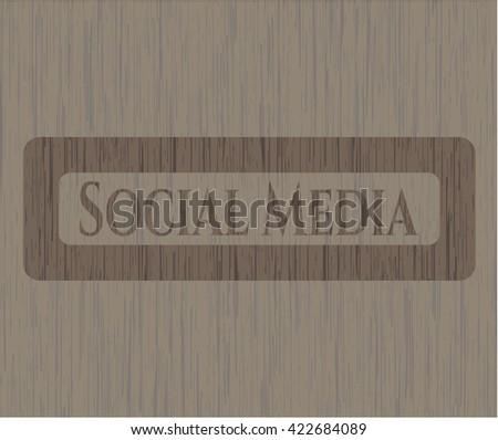Social Media wooden emblem