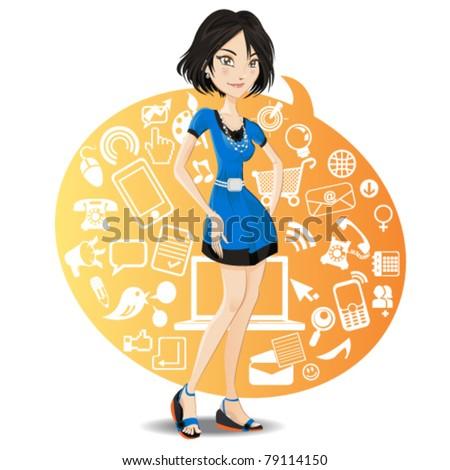 Social Network Girl
