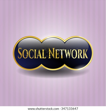 Social Network gold badge