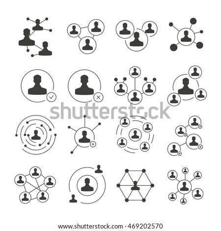 social network icons, social media icons
