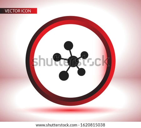 Social network single icon isolated on background. Social network single website design, Social network single app, logo, power user interface. Editable stroke. Eps 10 power