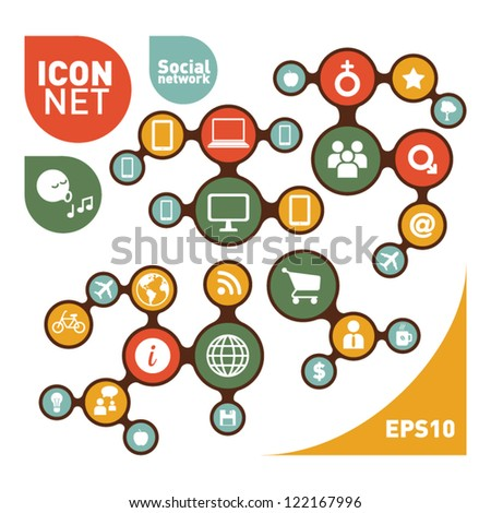 Social Networking Creative Icon Collection