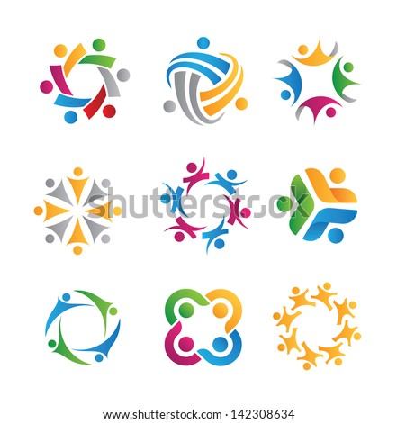 social relationship logo and