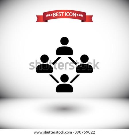 Social vector icon