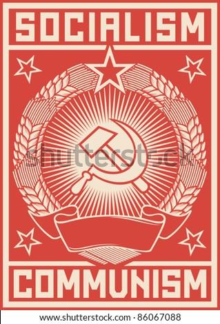 socialism   communism  poster
