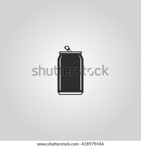 Soda cans icon vector